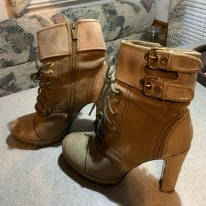 Pair of woman's heals/boots